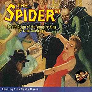 The Spider #26, November 1935 Audiobook