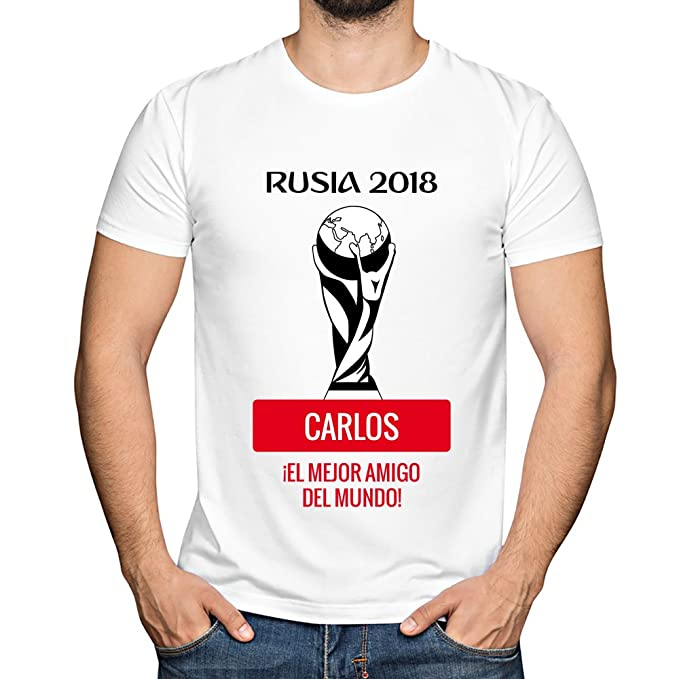 Camiseta Personalizada con Fecha de nacimiento y la Frase 'Soy de la Roja Desde Que Nací' (Rojo) AHWLC