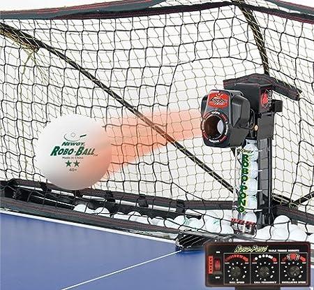 Amazon.com: newgy robo-pong 2040 + Robot de tenis de mesa ...