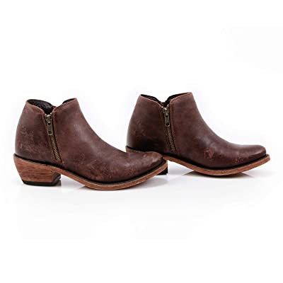 LIBERTY BLACK Sierra Distressed Women´s Ankle Boot Brown 9 US | Ankle & Bootie