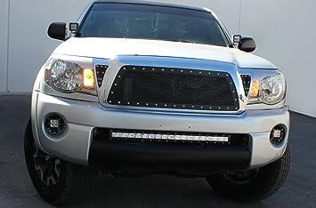 Rejilla de acero inoxidable total de sustitución para 2005 – 2011 Toyota Tacoma fabricado en Estados