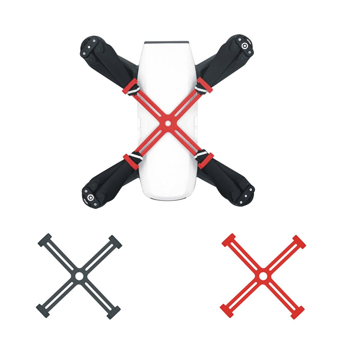 NEWQIBEAUTY DJI Spark Accessories Propeller Blade Fixed Holders Transport Protector Fixing Propeller Clips