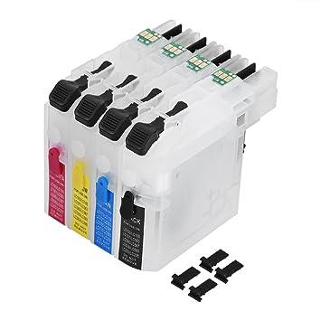 fosa 4 cartuchos de tinta LC261/LC263 de impresora compatible para ...