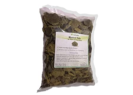 Buy Go Garden Mustard Cake Fertilizer For Plants 900g Online At Low Prices In India Amazon In