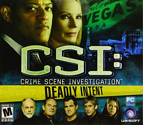 Price comparison product image CSI Deadly Intent JC