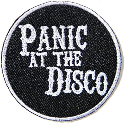 Panic At the Disco Heavy Metal Punk Rock Music Band Logo Patch Sew Iron on Embroidered