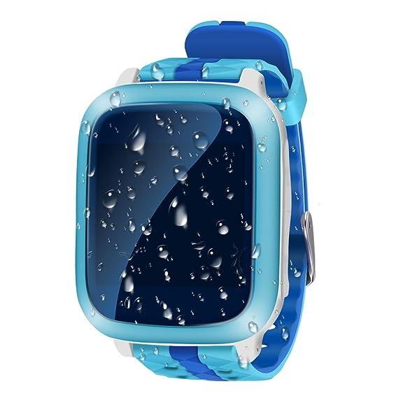 "NAVIFORCE 1.44"" LCD Reloj Elegante Para Niños Teléfono GPS Tracker Call / SOS / Ranura"