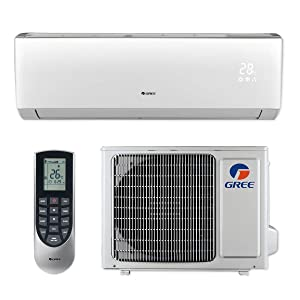 Gree LIVS09HP230V1B - 9,000 BTU 16 SEER LIVO+ Wall Mount Ductless Mini Split Air Conditioner Heat Pump 208-230V