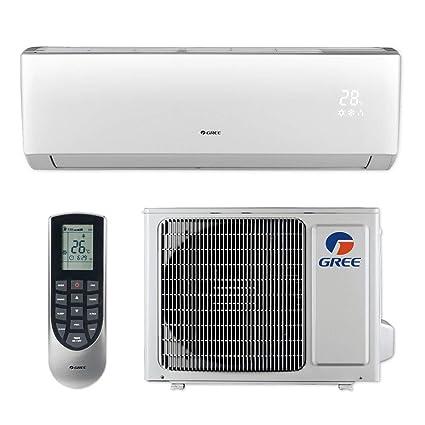 Gree LIVS12HP115V1B - 12,000 BTU 16 SEER LIVO+ Wall Mount Ductless Mini  Split Air Conditioner Heat Pump 115V