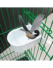 Biniwa–1PC Mini mangeoire à Oiseaux d'eau (Nourriture), Cage Plastique Gamelle, pour Petits Animaux Perroquet Boire Fournitures