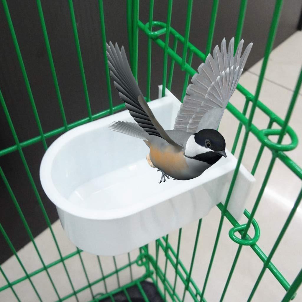 Fogun plástico Comida para pájaros, Grande, 6.6 x 6.2 x 3.4 cm ...