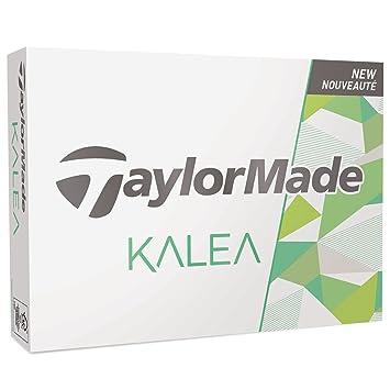 TaylorMade Kalea Bolas, Hombre, Blanco, Talla Única: Amazon ...