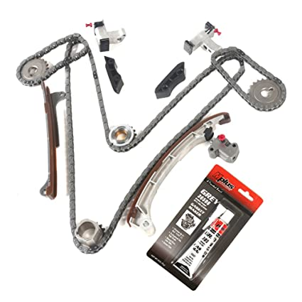 MOCA Timing Chain Kit for 2003-2012 Toyota Tundra & Toyota Tacoma & Toyota  4Runner 4 0L V6 DOHC 1GRFE - Eng Code