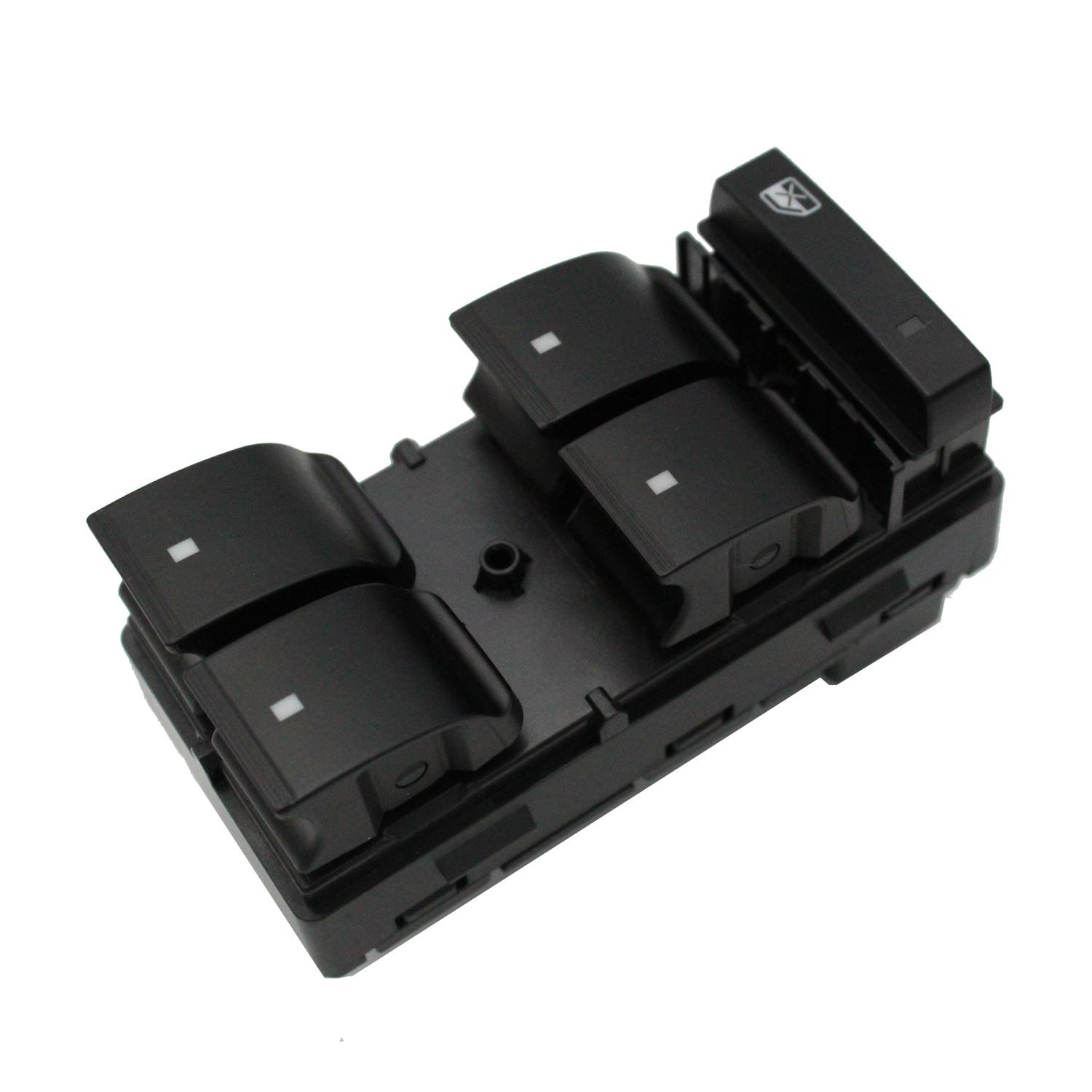 EVER STORE Driver Side Power Window Master 4 Door Control Switch 25789692 20945129 25951963 Compatible for Chevy Silverado GMC Sierra Yukon Traverse Buick Enclave