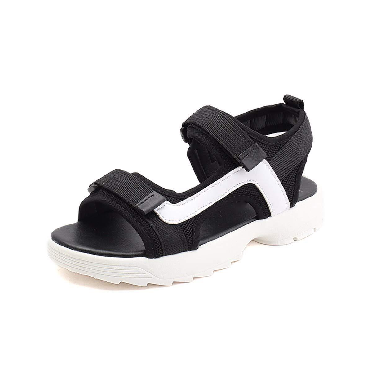 KPHY Chaussures pour Femmes/Sandales De Sport Femmes Summer Hara Harbin Flat Net des Chaussures Rouges Étudiant Trente - Huit Black
