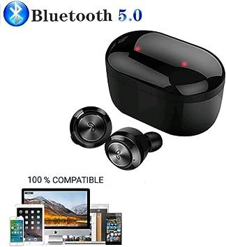 JSG Auriculares Bluetooth 5.0 Future 2020 inalámbricos Mini DT-3 ...