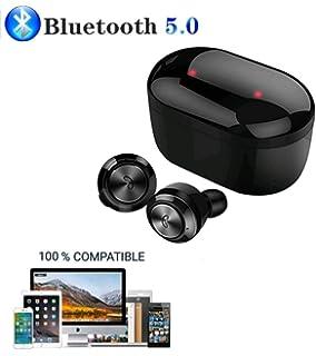 Mini Auricular inalámbrico Bluetooth con Cargador magnético USB ...