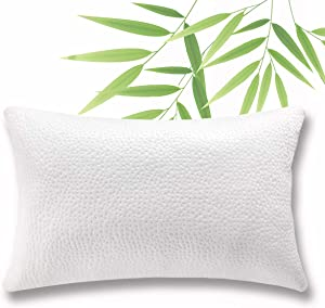 King Shredded Memory Foam Bed Pillow - Adjustable to Thick Thin with Cool Breathable Cotton Case - Cooling Pillow for Side Back Sleepers - Soft Firm Support for Therapeutic Neck Pain Gift, Modern King