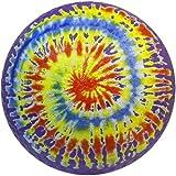 """Baden 8.5"""" Rubber Playground Ball, Tie Dye"""
