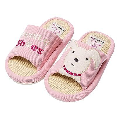 9831bee4e31db1 Blubi Toddler Little Kid Puppy Slide Sandals Non-Slip Bathroom Pool Slides