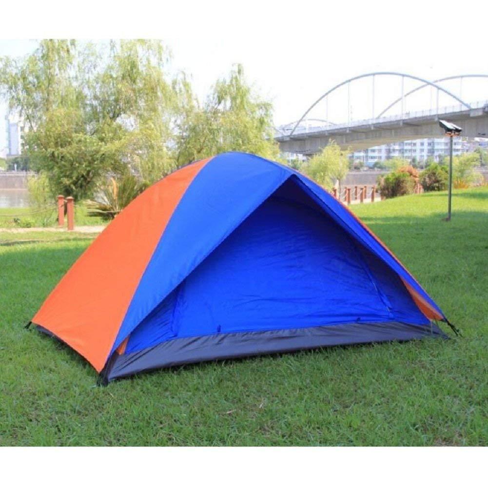 JIE Guo Outdoor-Produkte im Freien 3-4 Personen Doppelzelte, einfach zu Bauen, Net Yarn atmungsaktiv, Anti-Mosquito, Familie Garten Freizeit, Camping, Bergsteigen Zelte