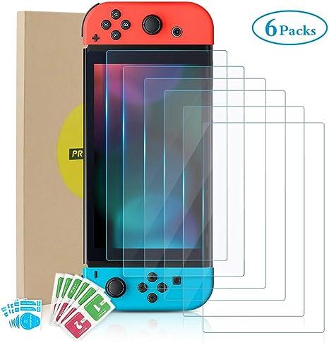 Protector de Pantalla para Nintendo Switch, Bestcool Templado ...
