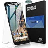 Google Pixel 3 Screen Protector, TopACE Google Pixel 3 Tempered Glass 9H Hardness [Case Friendly][Anti-Scratch][Bubble Free] for Google Pixel 3 (2 Pack)