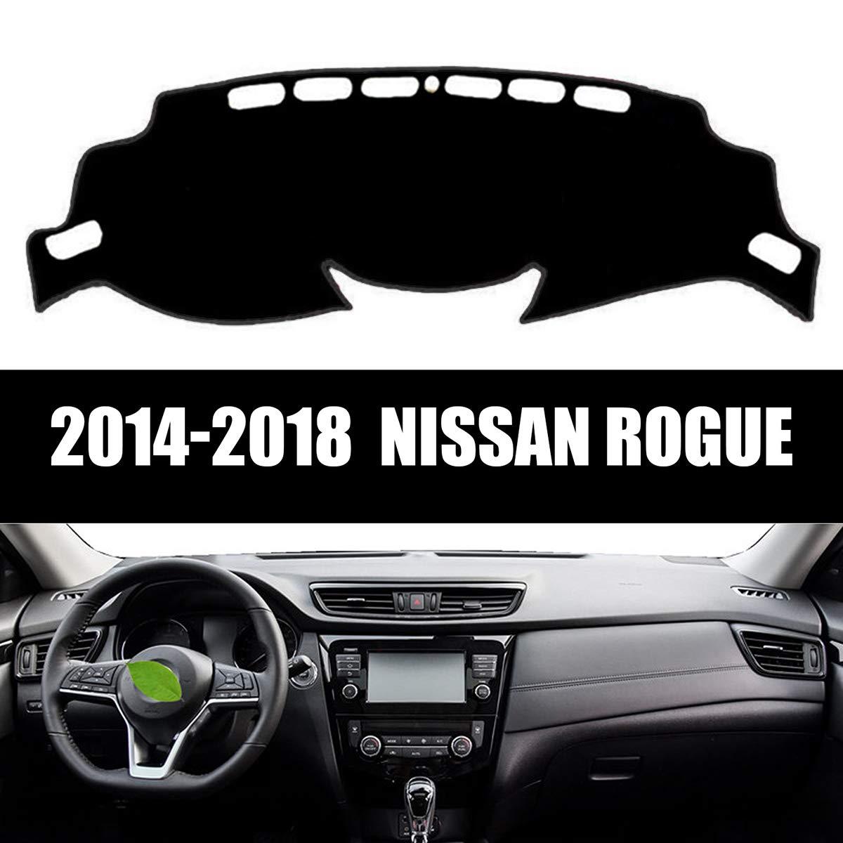 Yeeoy Anti-Slip Dash Board Car Mat Carpet Sun Shade Fits Nissan Rogue 2014-2018
