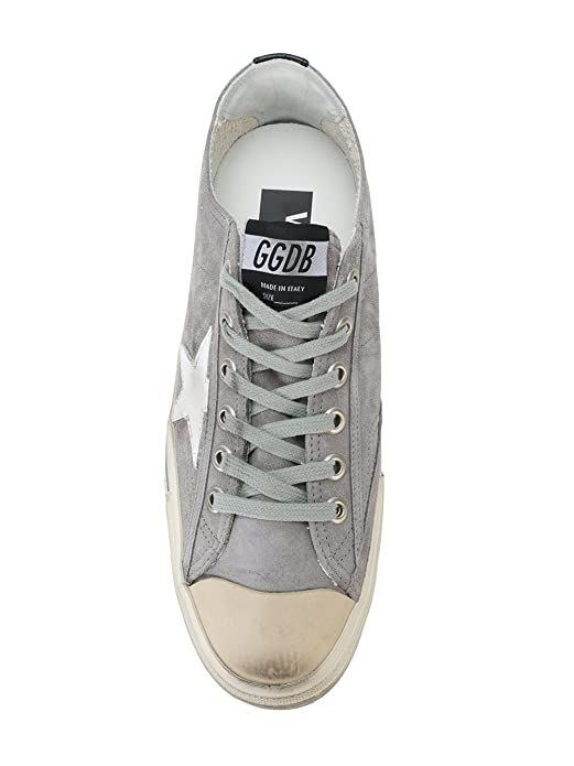 GOLDEN GOOSE HOMME G32MS639R8 GRIS CUIR BASKETS pKmitFN