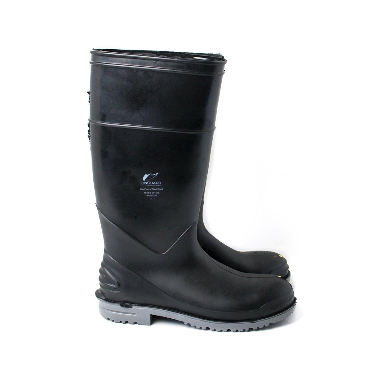 e01fe9bc08e UltraSource Polyurethane Chemical Resistant Boots, Steel Toe, Goliath 16