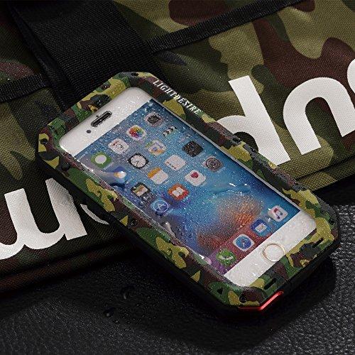 buy online d0546 de385 iPhone 5SE 5S Case,LIGHTDESIRE [Newest] Aluminum Alloy Army ...
