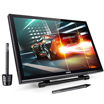 Amazoncom Ugee 19 Graphics Drawing Pen Tablet Monitor With Screen