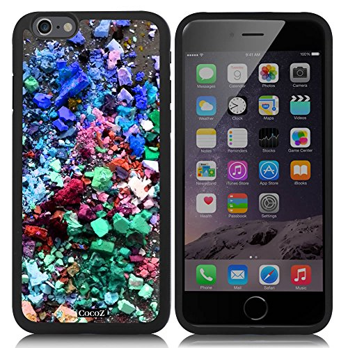 CocoZ® New Apple Iphone 6 s 4.7-inch Case Beautiful Personalized color TPU Material Case (Black TPU & Personalized color 29)