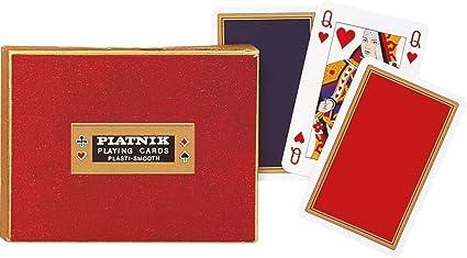 Amazon.com: Piatnik 2223 Monogram de Luxe - Juego de cartas ...