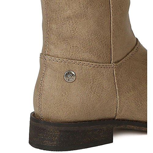 Breckelles Kvinners Tenesee-17 Ridestøvler Beige