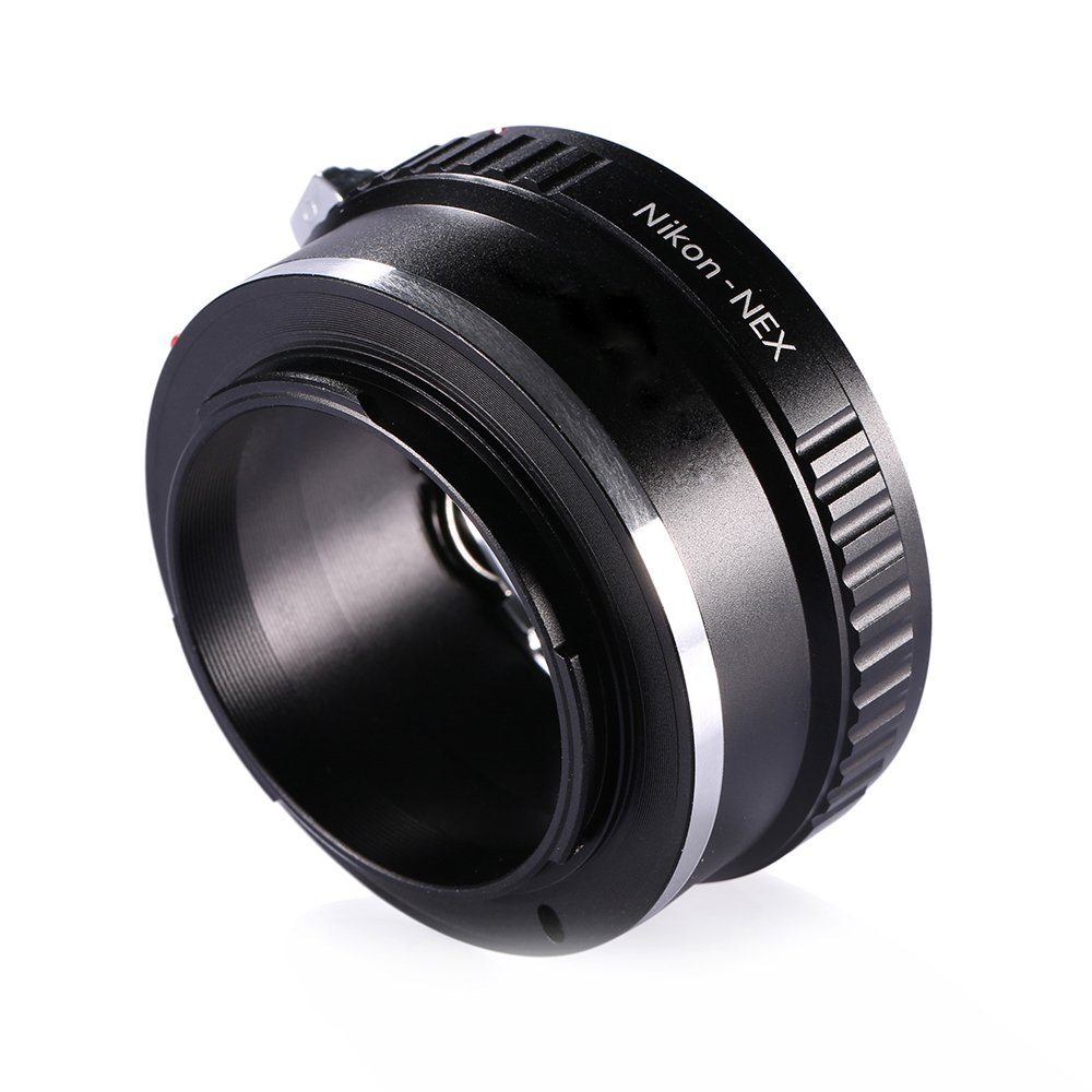 Adapter To Convert Nikon F-Mount Lens To E-mount / NEX For Alpha Sony a7, a7S, a7IIK, a7II, a7R II, a6500, a6300, a6000, a5000, a5100, a3000 Mirrorless Digital Camera