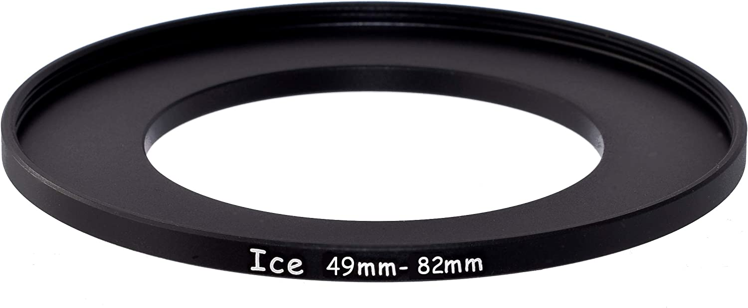 49mm to 82mm Stepping Step Up Filter Ring Adapter 49mm-82mm