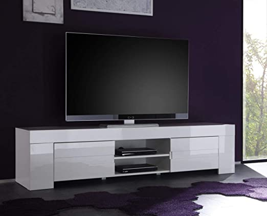 Kasalinea Eleonore - Mueble para televisor, Color Blanco Lacado ...