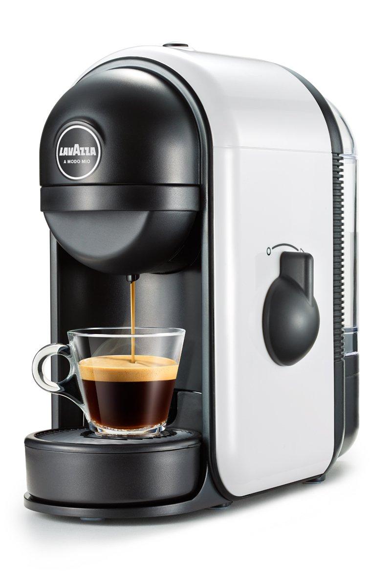 Lavazza Macchina Caffè Minù, 1250 Watt, Bianco LM500