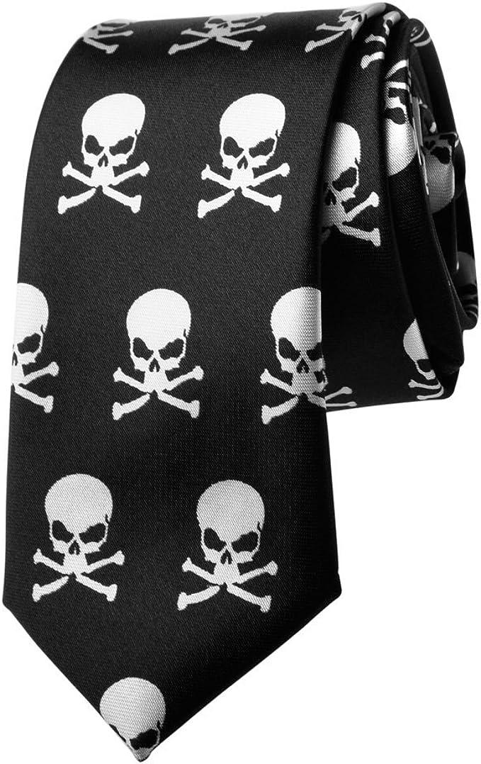 Acheter cravate tete de mort online 3