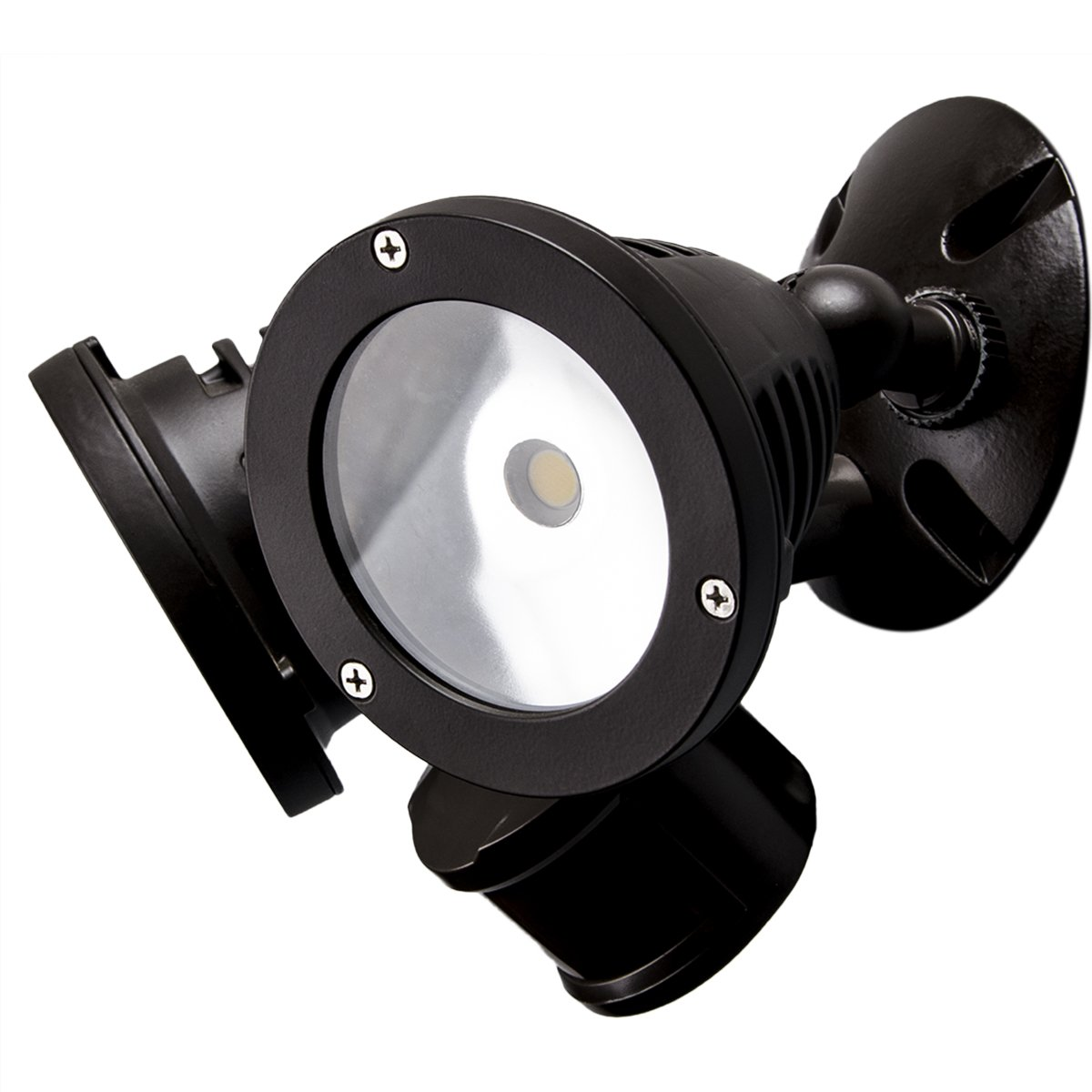 TOPELE Security Light, 2200LM Motion Sensor Outdoor Flood Light, Motion Activated Landscape Lighting, IP65 Waterproof, Adjustable Head with CREE LED Source for Home, Garden by TOPELE (Image #2)