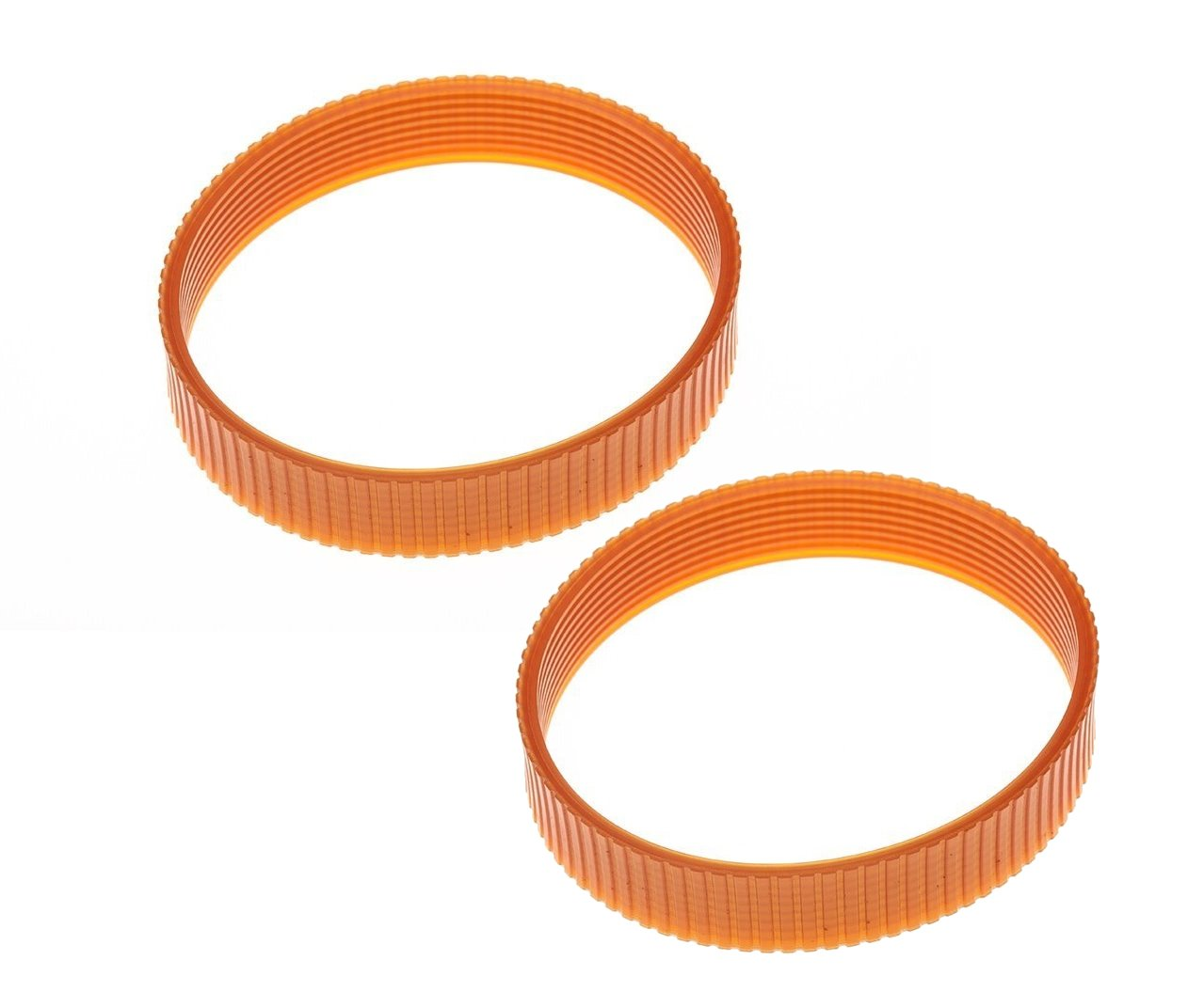 2 Pack Planer Replacement Drive Belt 429962-08 for DeWalt DW734 DW734R Planer - 9 Ribs by JTEX (Image #1)