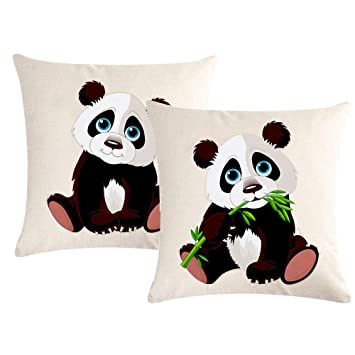 Amazon.com: 7COLORROOM - Fundas de almohada cuadradas de ...