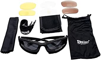 MASO Polarized Sports Sunglasses Cycling Glasses with 5 Interchangeable Lenses