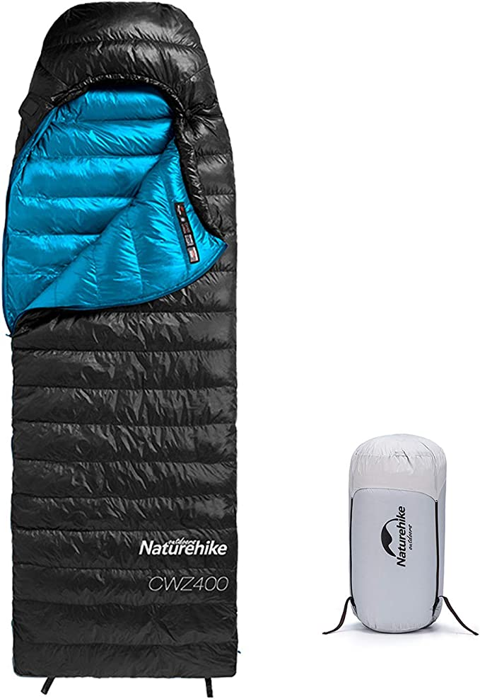 Ultra-light Outdoor 800g Down Sleeping Bag Thickening Stitching Camping Travel