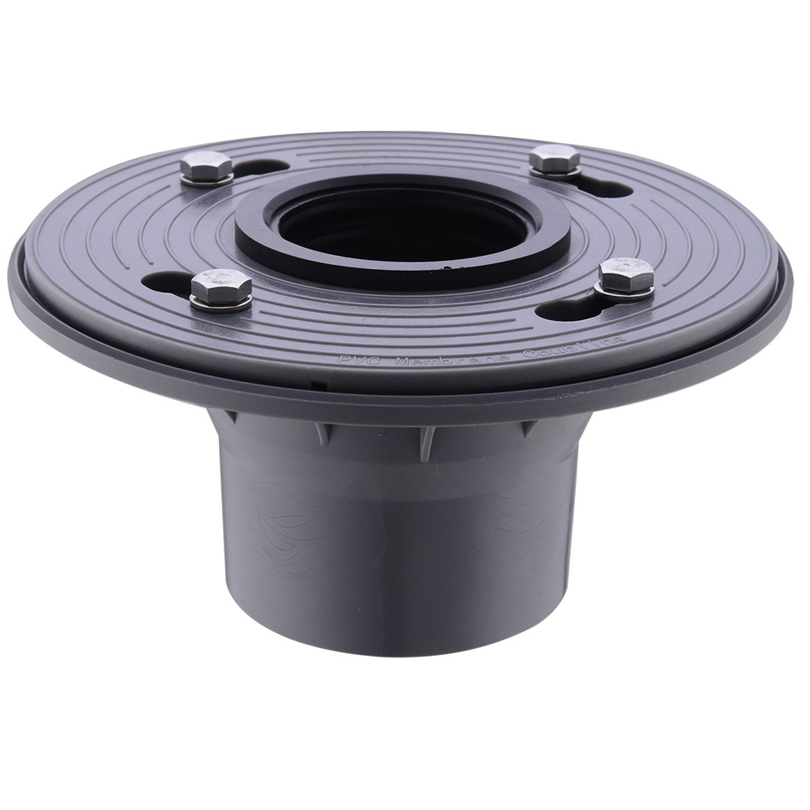 HANEBATH 2 Inch PVC Shower Drain Base with Rubber Gasket