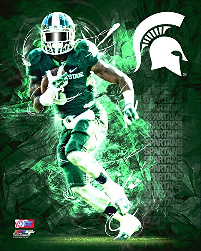 Michigan State Spartans Football Player Composite Photo (Size: 8
