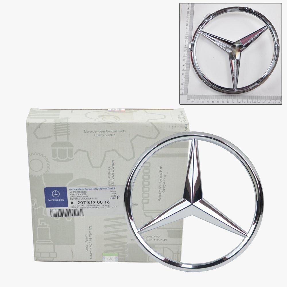 Amazon.com: Mercedes Benz Front Grill Star Emblem Genuine Original 2070016:  Automotive