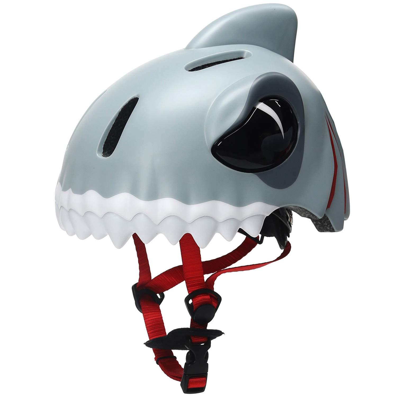 Bavilk Toddler Multi Sports Helmet 3D Cartoon Kids Bike Helmets for Girls&Boys