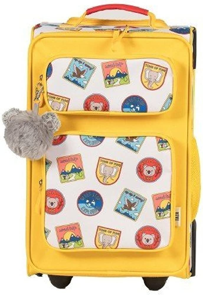 Love Taza 18 Kids Suitcase-Yellow